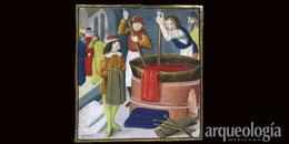 La grana cochinilla de México se exporta al mundo. Siglo XVI