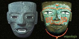 Rostros teotihuacanos