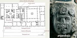 El templo de Tezcatlipoca