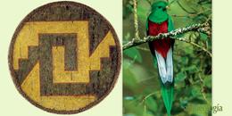 Hechos con plumas de quetzal