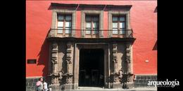 Antiguo Palacio del Arzobispado. Vestigios prehispánicos y virreinales