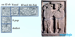 La firma de un escultor maya