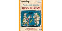 E72. Códice de Dresde. Parte 2. Edición facsimilar