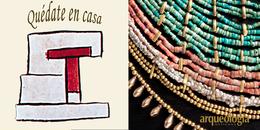 Dos collares de oro de la Tumba 7 de Monte Albán, Oaxaca