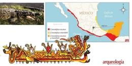 Cocodrilos traídos a Tenochtitlan