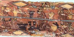 Mural de los Bebedores, Cholula
