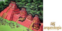 Tumba de la Reina Roja. Palenque, Chiapas