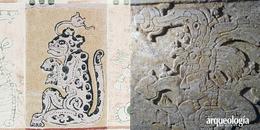 Las flores y los mayas