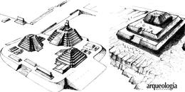 Infraestructura de las pirámides