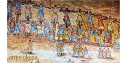 Murales de la Catedral de Cuernavaca, de estilo Techialoyan