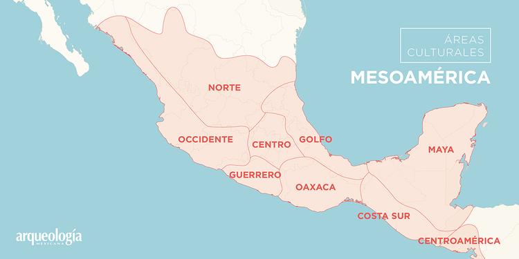 reas culturales  Arqueologa Mexicana